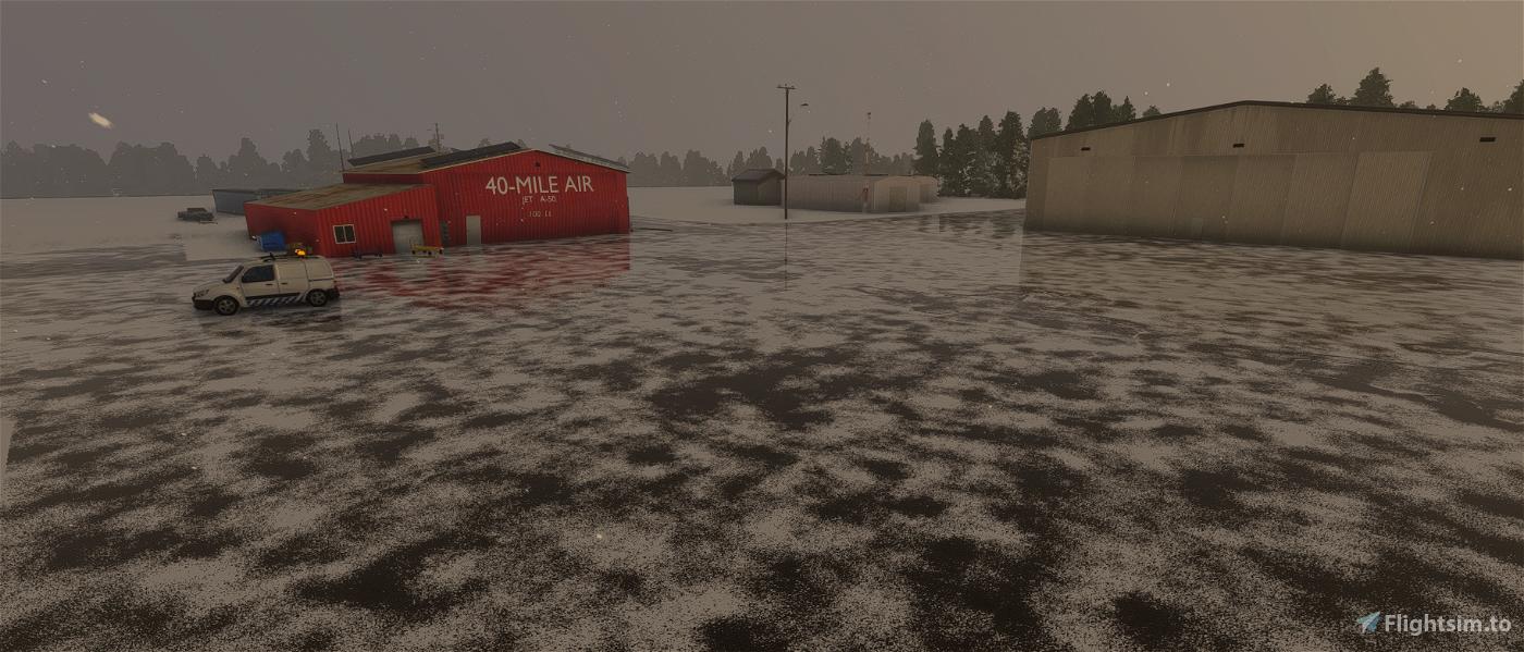Tok Junction Airport, Alaska Flight Simulator 2020