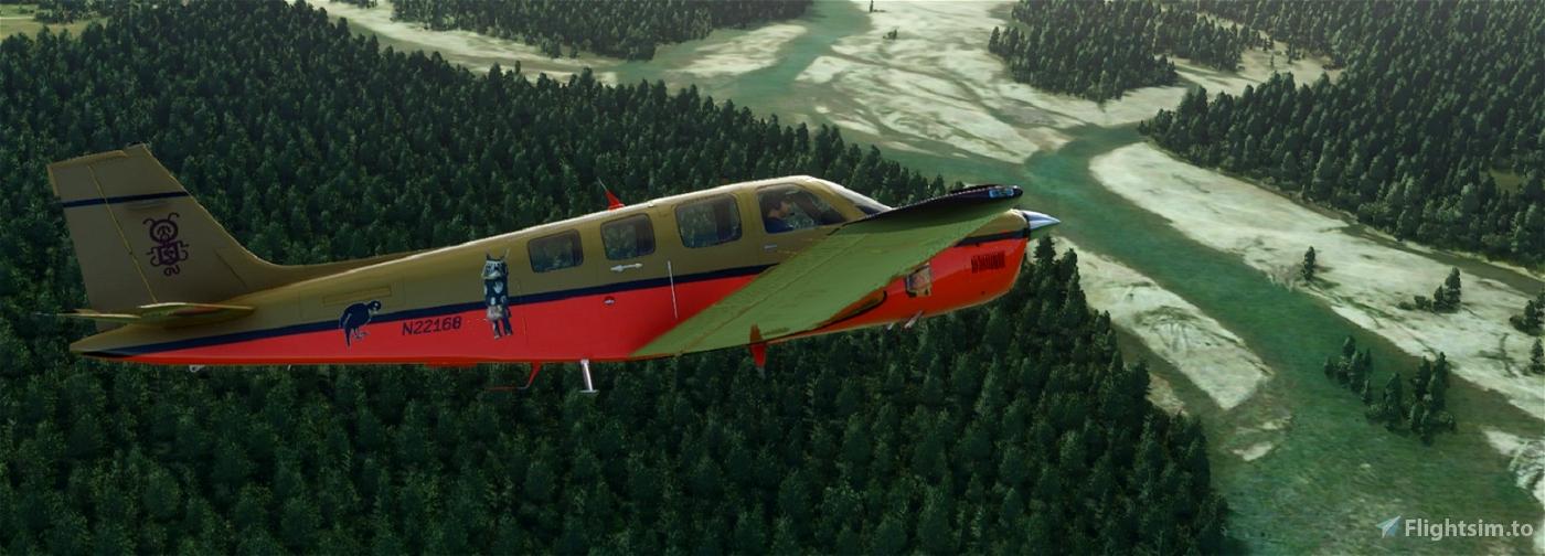 Bonanza G36 N22168 BO-Bryce Flight Simulator 2020