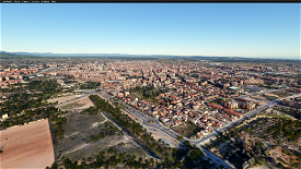 Reus city ,Spain Microsoft Flight Simulator