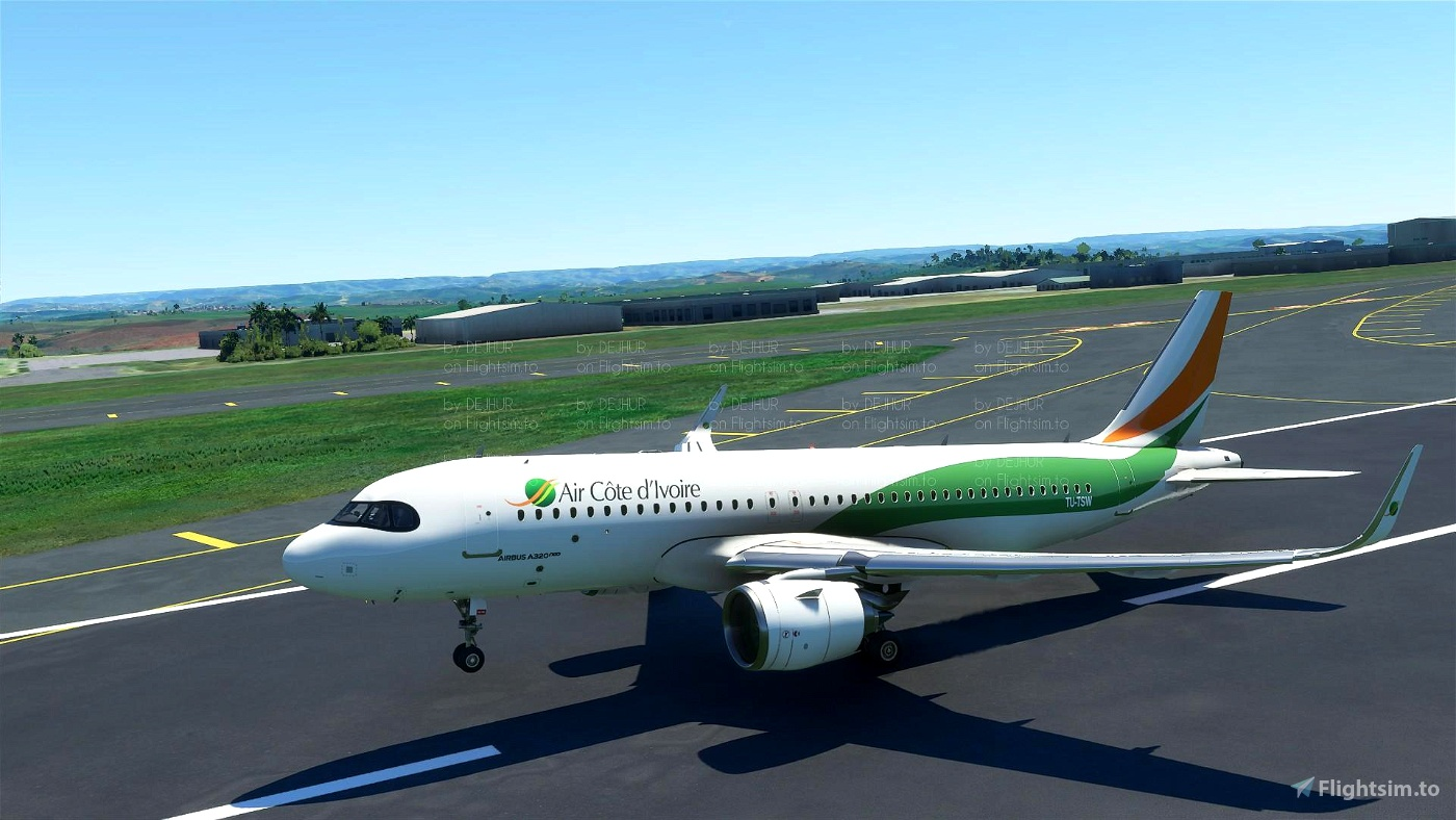 Air cote D'ivoire(4K)[TU-TSW] Flight Simulator 2020