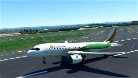 Air cote D'ivoire(4K)[TU-TSW] Image Flight Simulator 2020