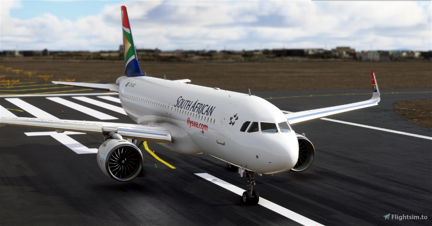 a320 South African Airways