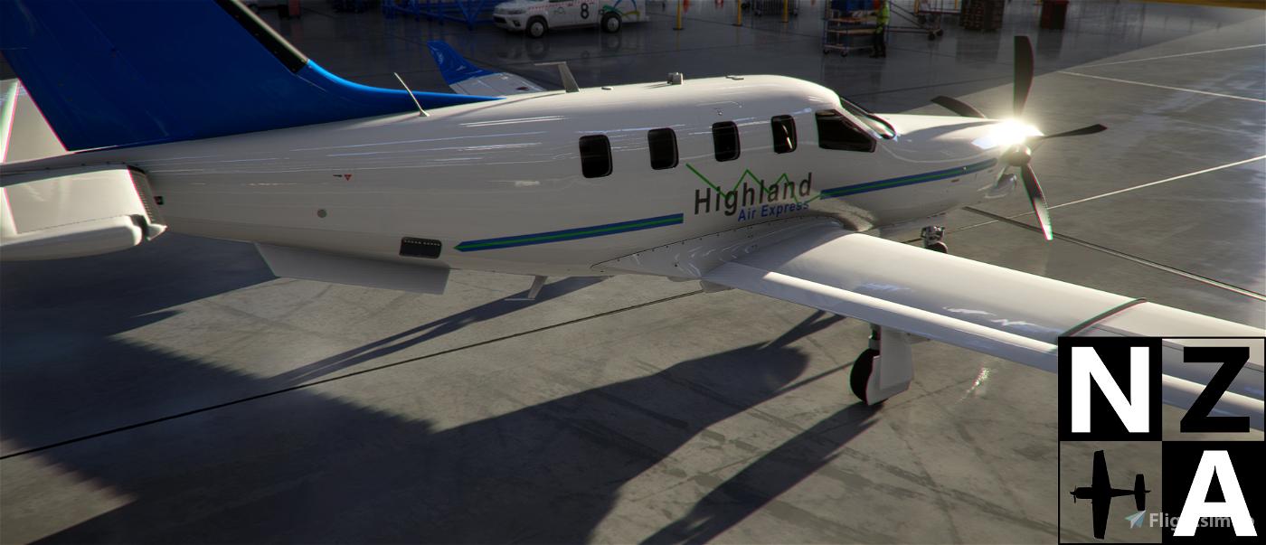 Papua New Guinea (PNG) Highland Air Express TBM 930