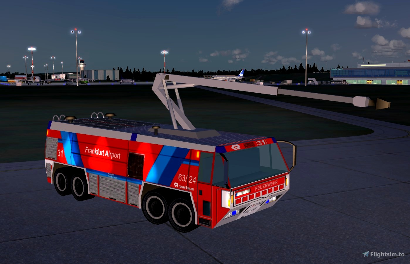 Aiport Fire Truck Simba