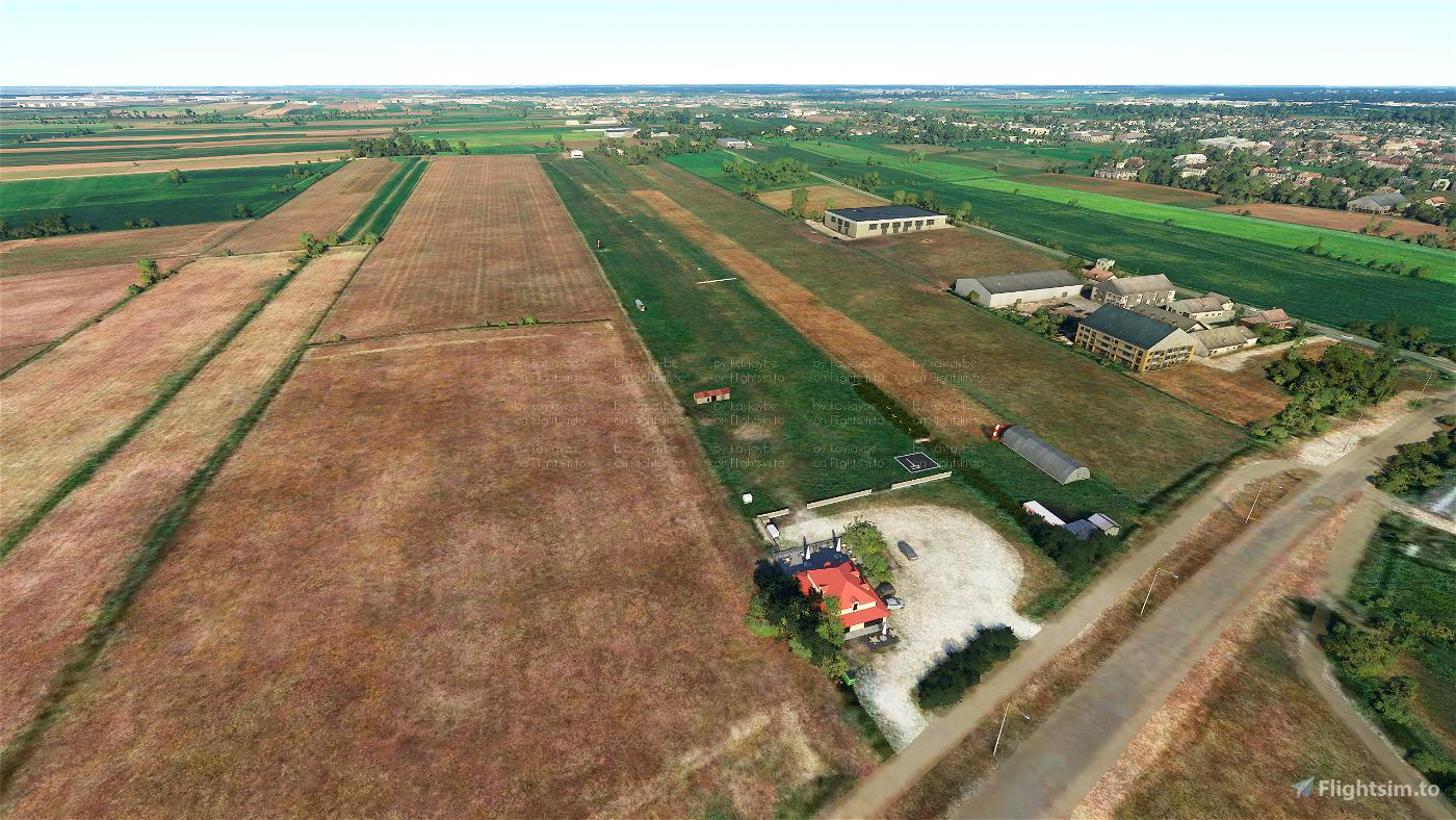 EBHN Hoevenen Airfield Microsoft Flight Simulator