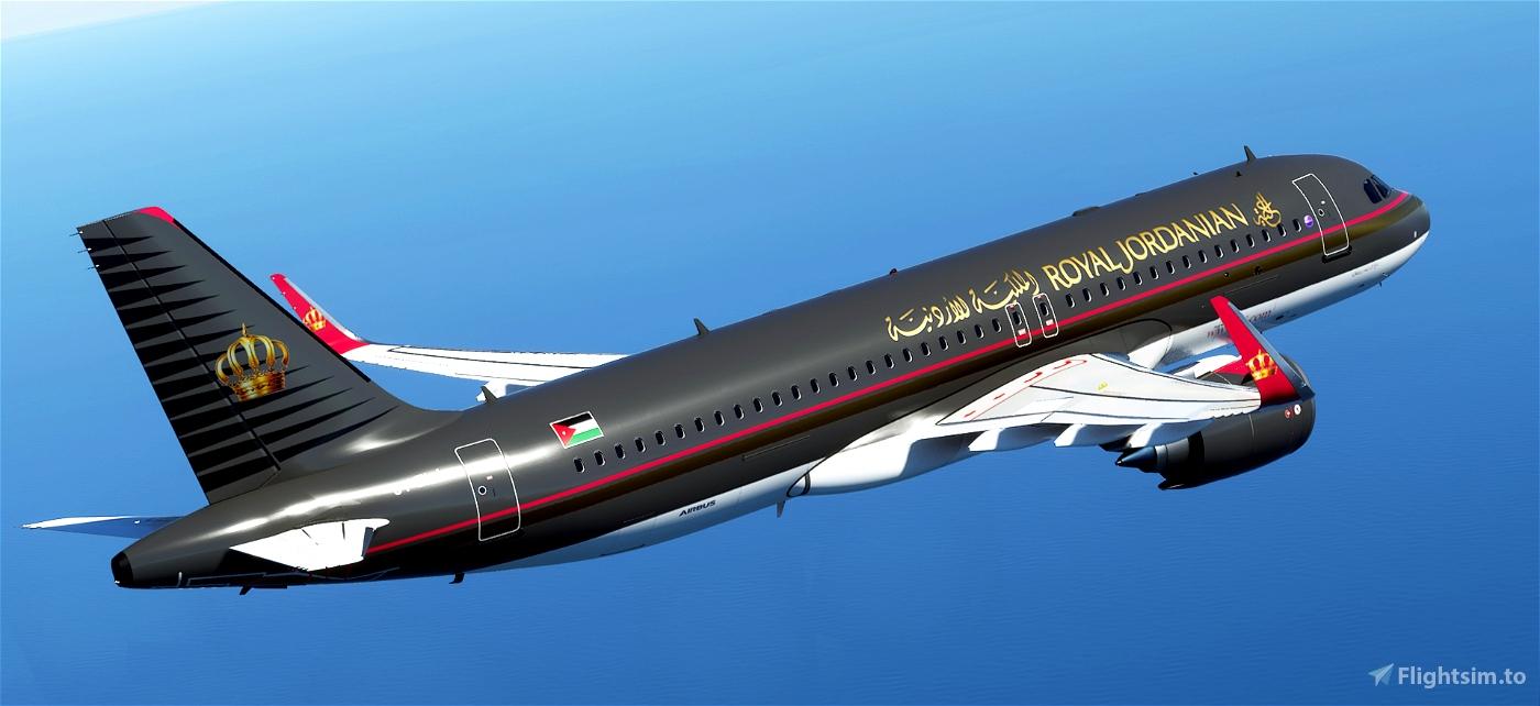 Royal Jordanian [patch 5] Flight Simulator 2020