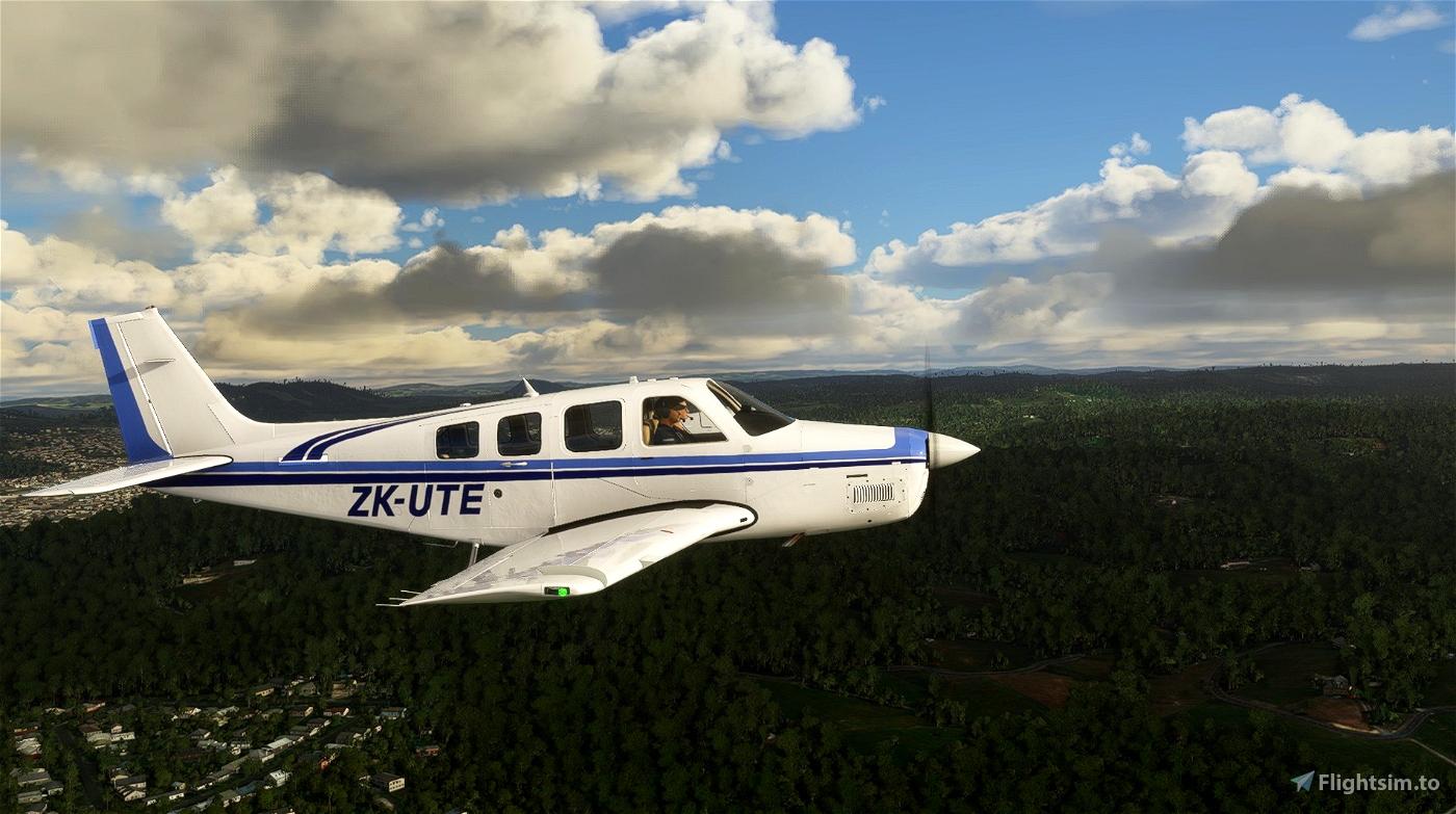 Beechcraft G36 Bonanza ZK-UTE