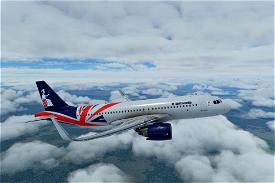 Airbus A320neo Britannia Airways (60th anniversary concept) Image Flight Simulator 2020