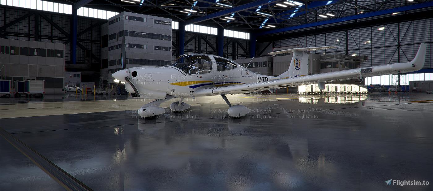 New Zealand Massey University DA40-NG Flight Simulator 2020