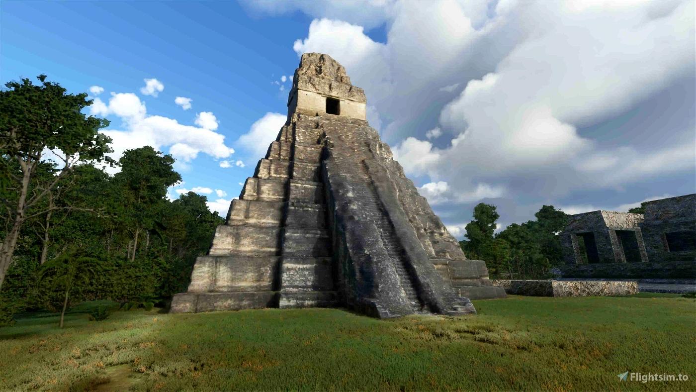 Tikal Microsoft Flight Simulator