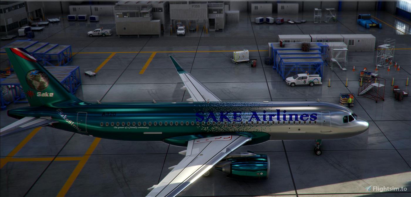A320 SakeSimu Flight Simulator 2020