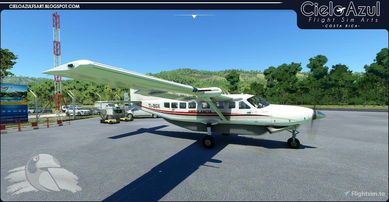 Prestige Wings | TI-BGX | Asobo Cessna C208B EX Grand Caravan (8K) Flight Simulator 2020