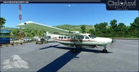 Prestige Wings | TI-BGX | Asobo Cessna C208B EX Grand Caravan (8K) Image Flight Simulator 2020