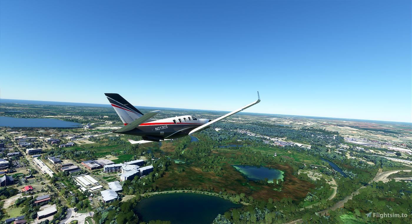 Michiganderflyer-Holland Microsoft Flight Simulator