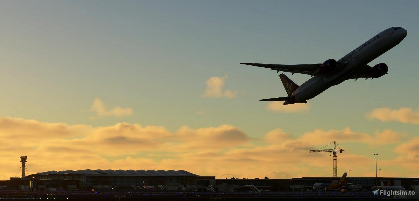 Virgin Atlantic (G-VSPY)  Flight Simulator 2020