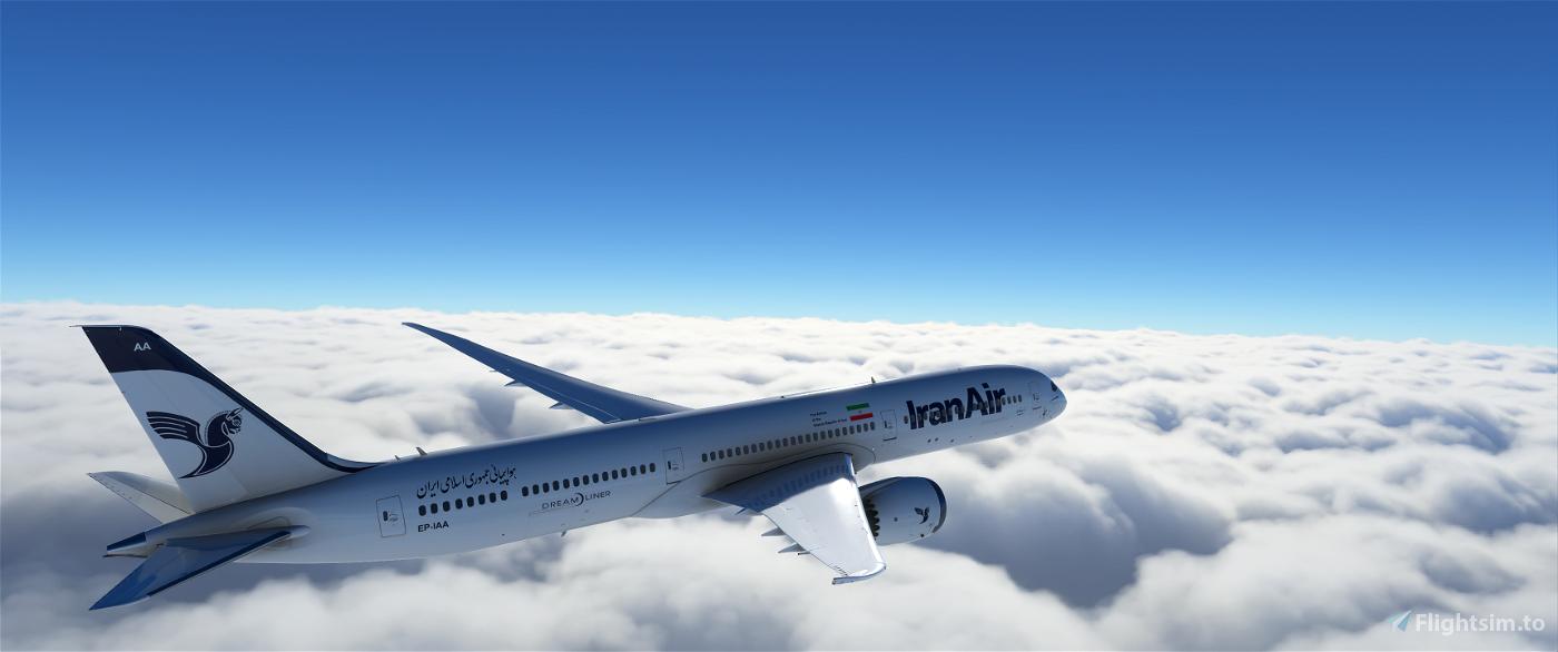 Iran Air 787-10 - Modern Livery - 4k