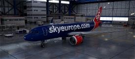 SkyEurope A320N Livery Image Flight Simulator 2020