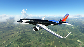Southwest Airlines Shamu livery Image Flight Simulator 2020