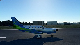 Daher TBM 930 - BBN Airways Repaint  Image Flight Simulator 2020