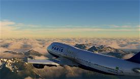 Boeing 747-400 Varig Brasil  Image Flight Simulator 2020