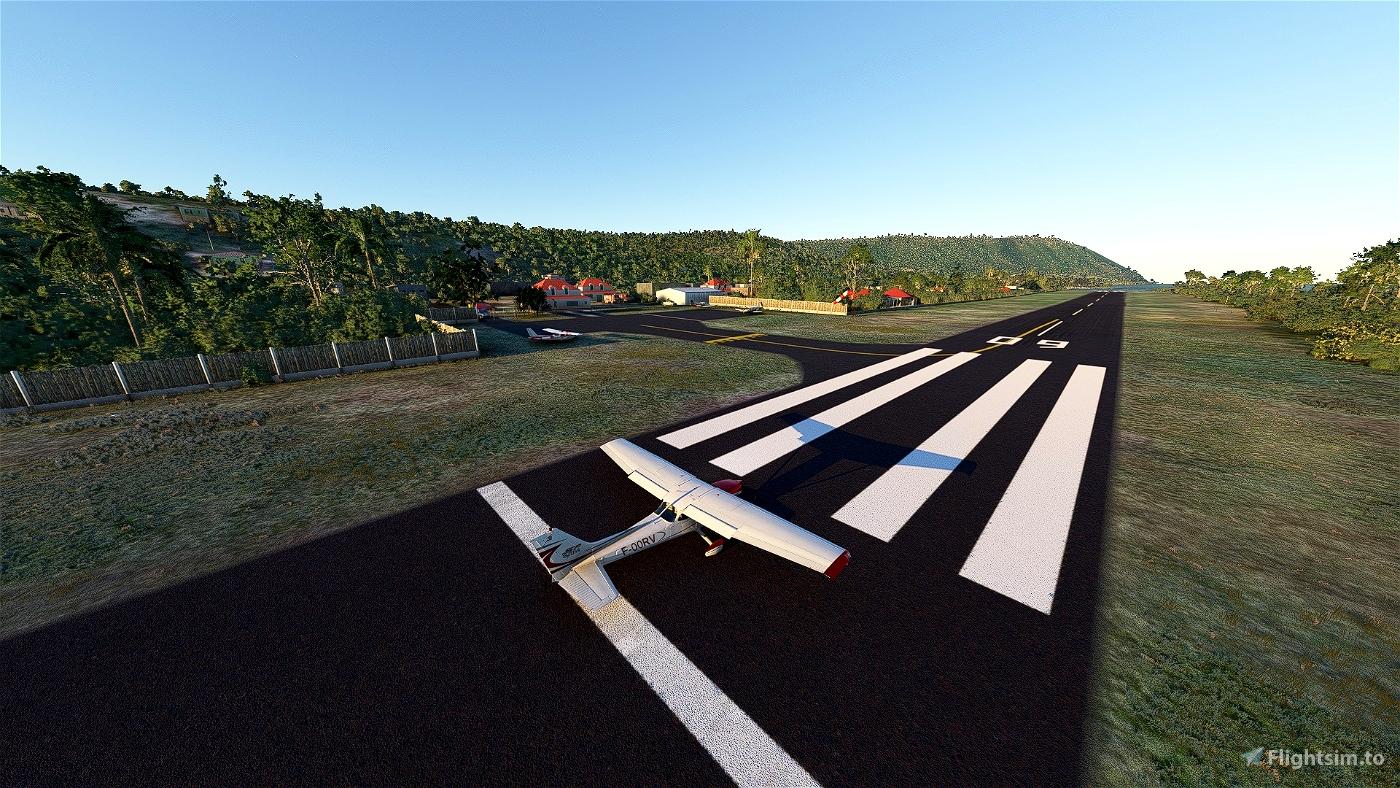 Désirade Island, Guadeloupe [TFFA] Microsoft Flight Simulator