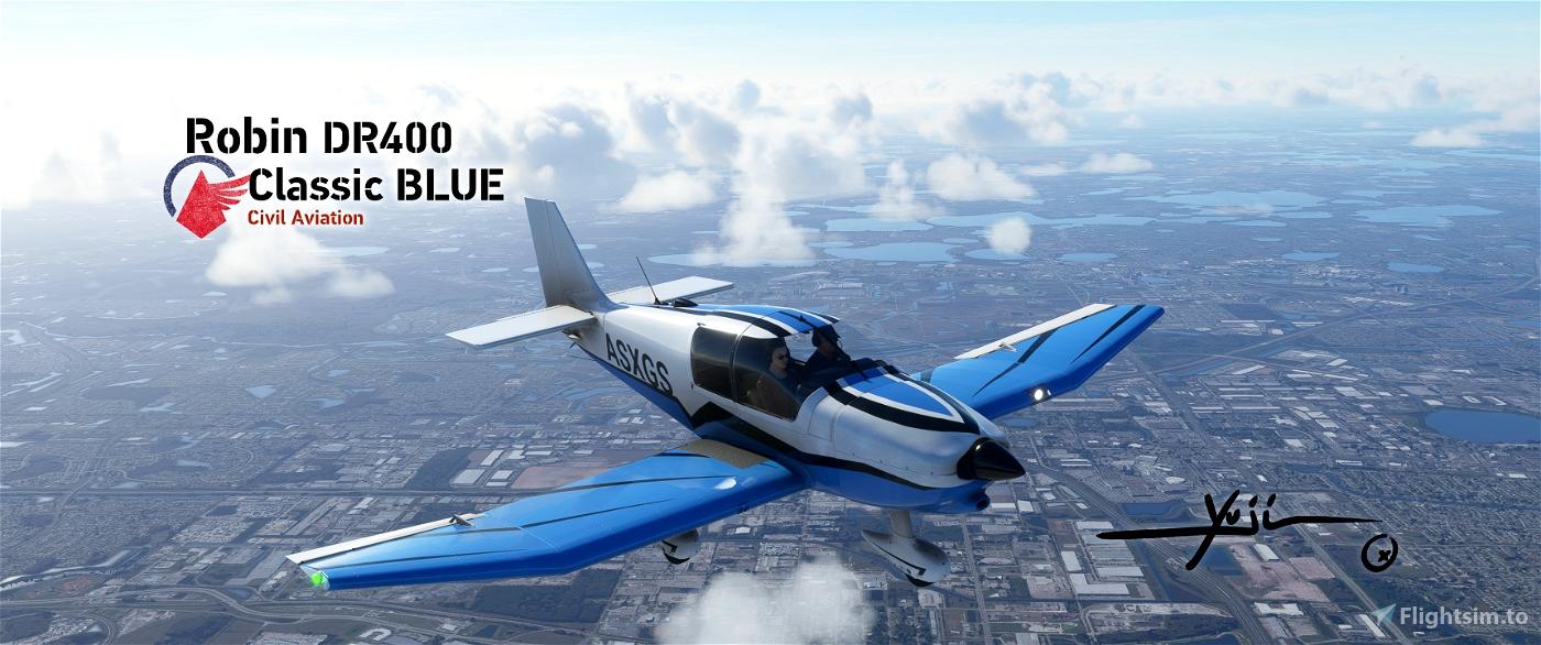 Robin DR400 Classic BLUE
