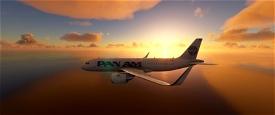 Airbus A320 PAN AM Image Flight Simulator 2020