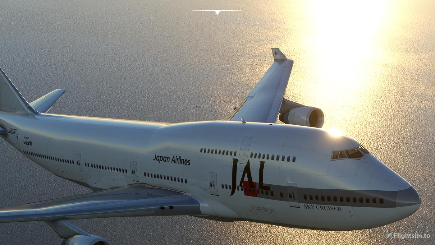Boeing 747-400 JAL  Flight Simulator 2020