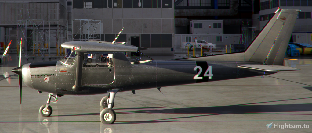 C152 Worn Metal Bare for FS2020 1.10.8.0 Flight Simulator 2020