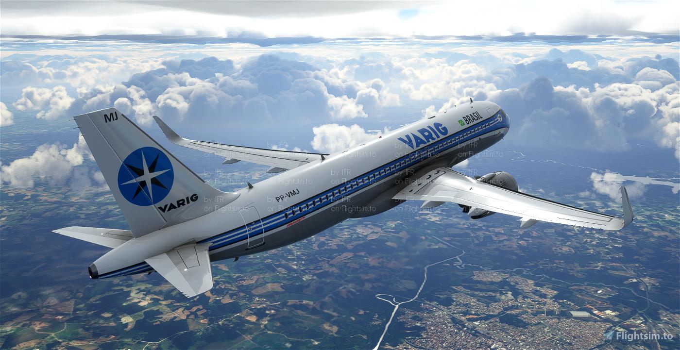 A320 Neo Varig (Fictional) Flight Simulator 2020