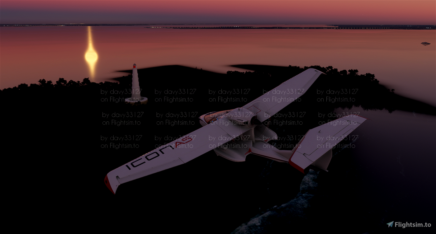 Phare de Cordouan Microsoft Flight Simulator