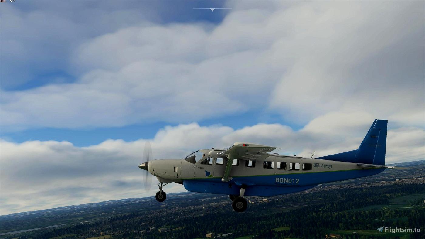 C208 B in BBN-Airways Livery Flight Simulator 2020