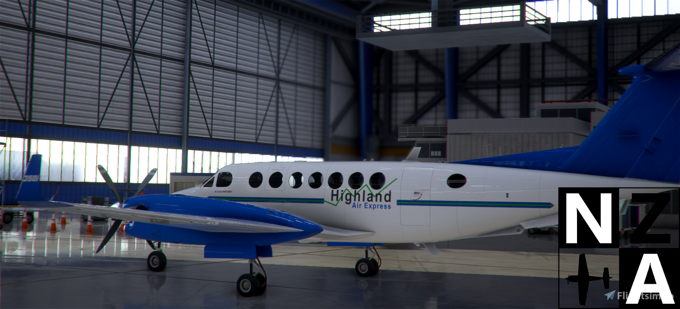 Papua New Guinea (PNG) Highland Air Express King Air 350