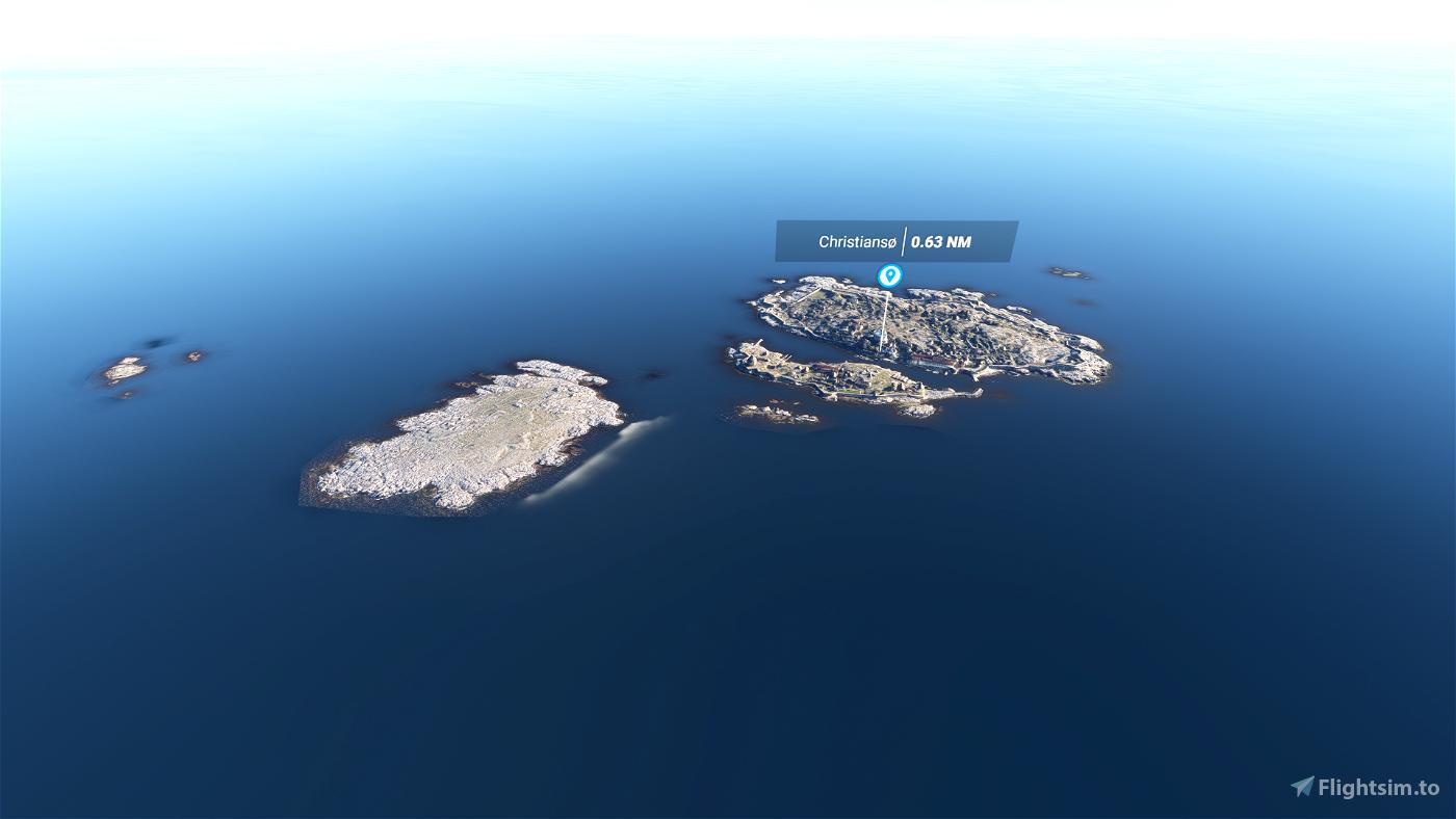 Christiansø/Ertholmene Microsoft Flight Simulator