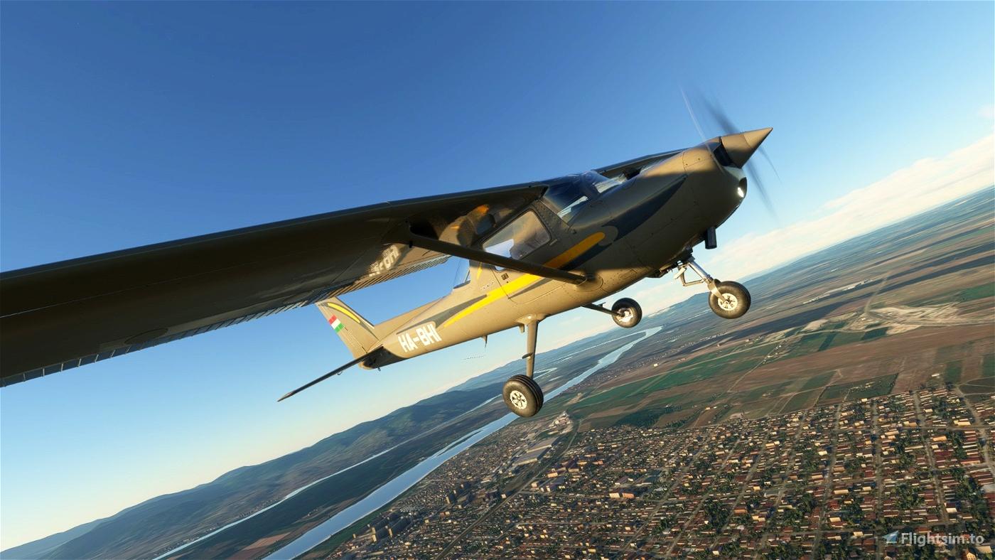 Cessna C-152 Malév Aero Club livery HA-BHI