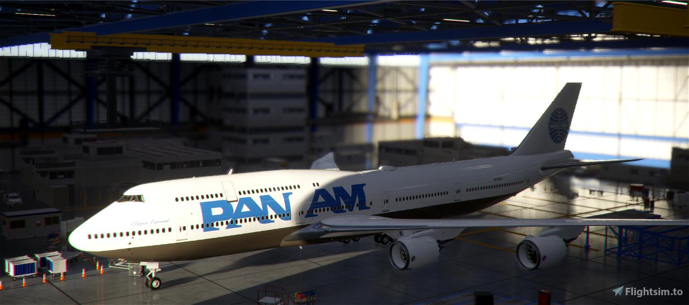 B747-8 Pan Am World Airways [8K]