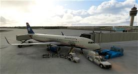 heritage of US Airways - American Airlines A320 Image Flight Simulator 2020