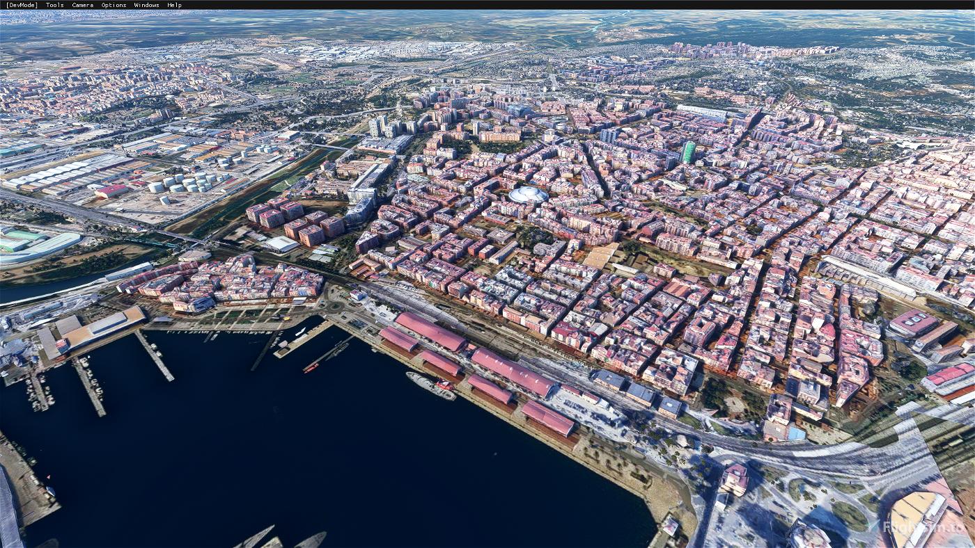 Tarragona city,Spain