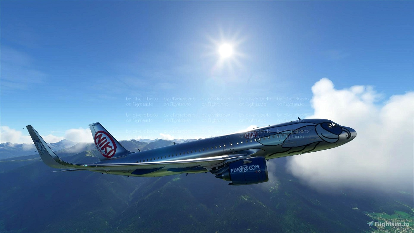Niki (8K livery) Flight Simulator 2020