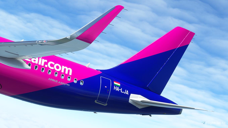 [A32NX] A320neo Wizz air (HA-LJA) 8k (v2.2)