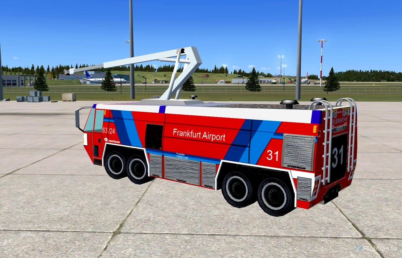 Aiport Fire Truck Simba Microsoft Flight Simulator