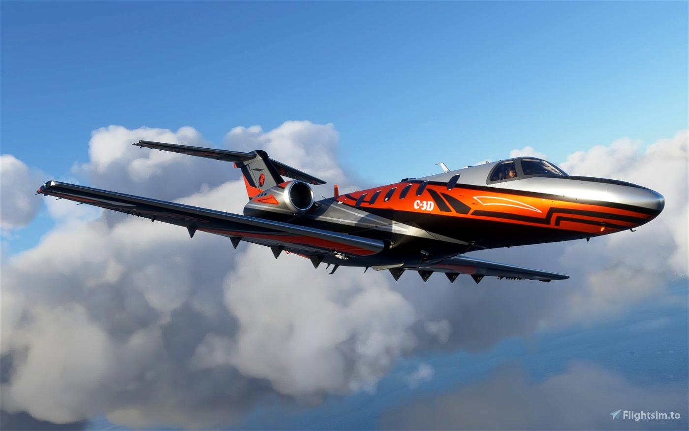Livery Cessna CJ4 C-3D