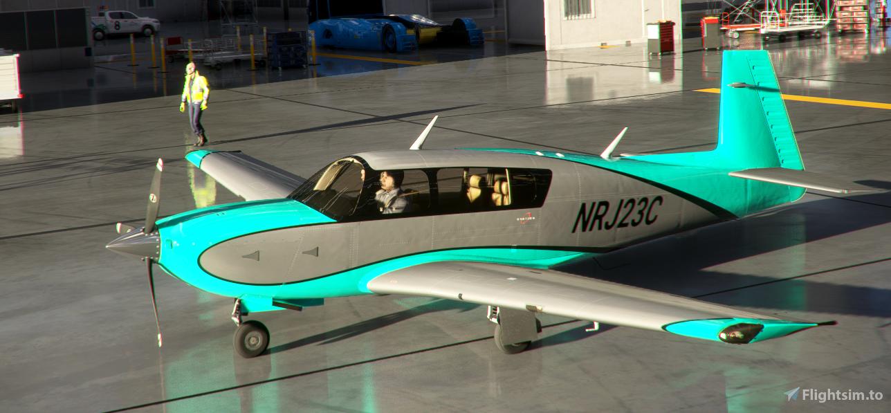 Mooney Livery 9 Colors Style3 Flight Simulator 2020