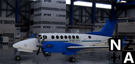 Papua New Guinea (PNG) Highland Air Express King Air 350 Image Flight Simulator 2020
