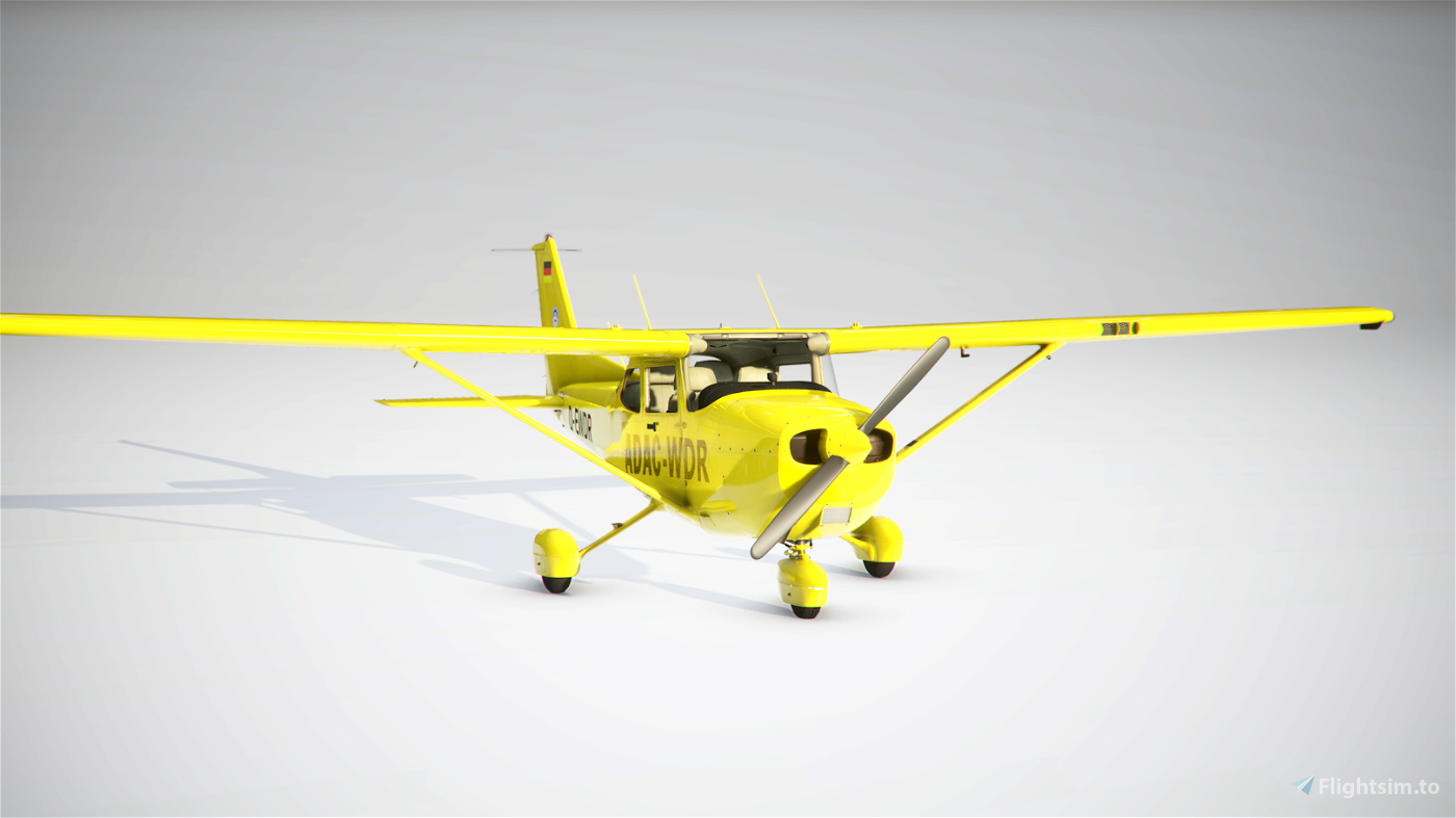 Cessna 172 Classic/AS1000 livery - ADAC- WDR
