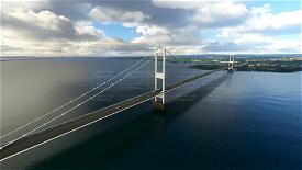 Severn Bridges, UK Microsoft Flight Simulator