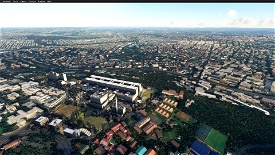 Johannesburg(Charlotte Maxeke Academic Hospital) Microsoft Flight Simulator