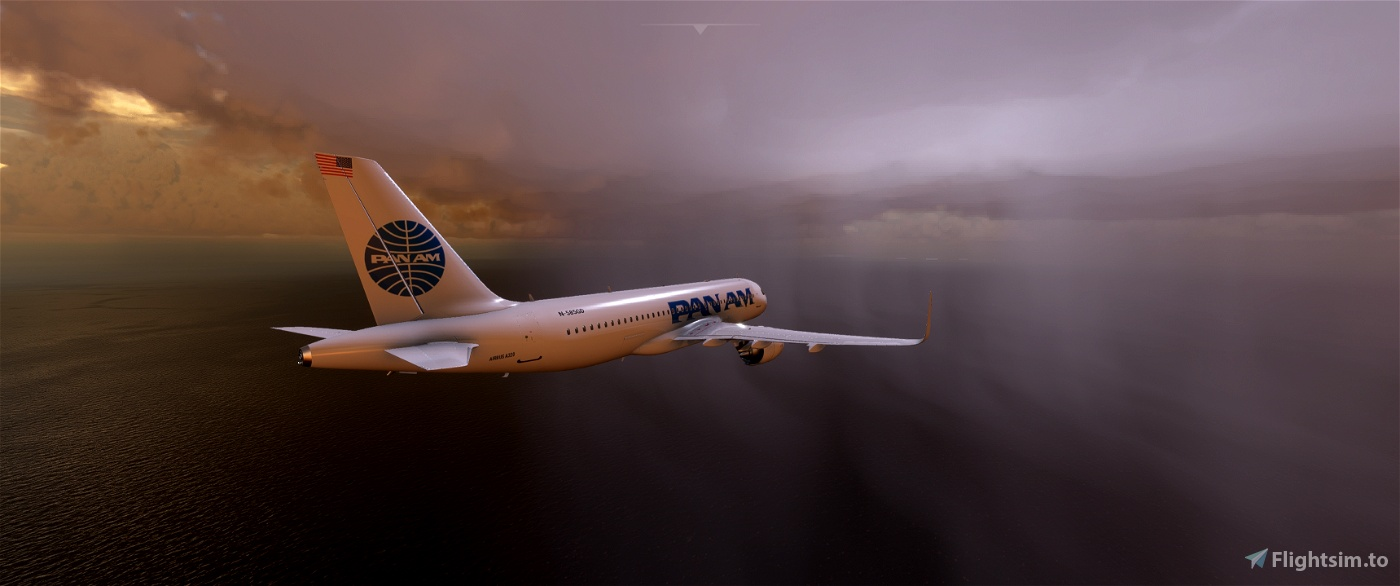 Airbus A320 PAN AM