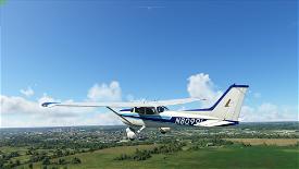 N80991 Repaint (172 Classic) Steam Gauge Version *Update Fixed* Image Flight Simulator 2020