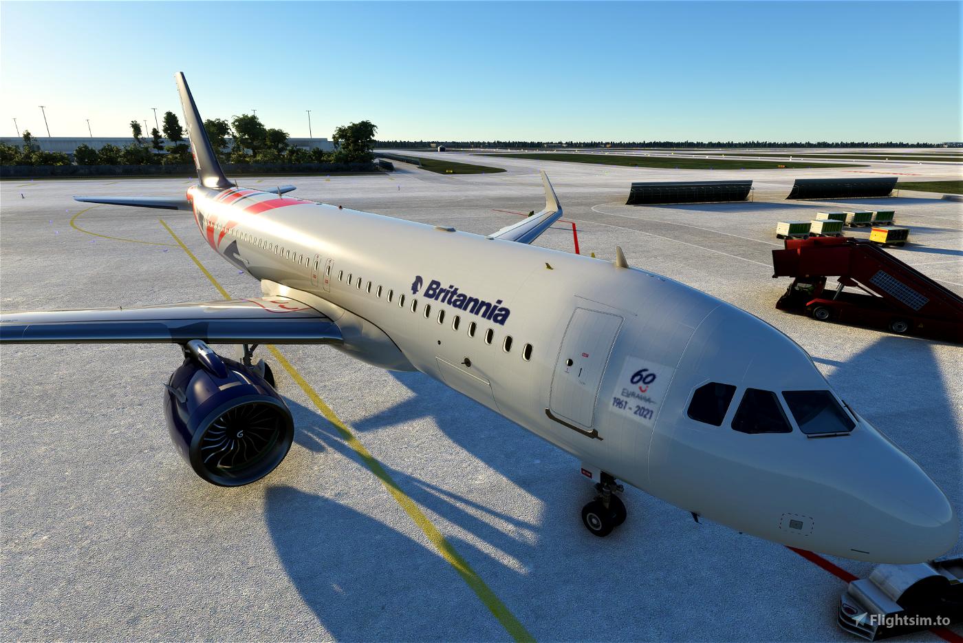 Airbus A320neo Britannia Airways (60th anniversary concept)